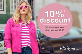 Exclusive 10% Ulla Popken discount code